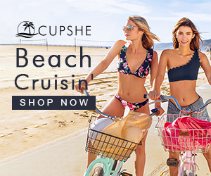 Beach Cruisin'! Soak Up The Sun In Flirty Florals And Statement Solids! Shop Now!