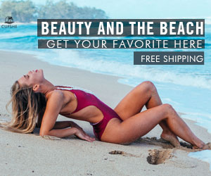 Beauty and the Beach! Get Your Favorite Here! Free Shipping! Shop Now!