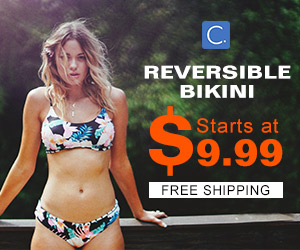 Reversible Bikini! Starts at $9.99! Free Shipping!