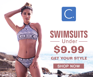 Swimsuits Under $9.99!Get Your Style!Shop Now!