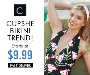 Cupshe Bikini Trend! Starts at $9.99! Fast Delivery! Shop Now!