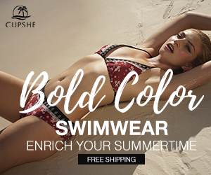 Bold Color Swimwear! Enrich Your Summertime! Free Shipping!