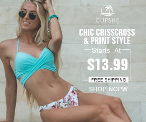 Chic Crisscross & Print Style! Starts At $13.99! Free Shipping! Shop Now!