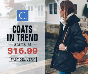 Coats In Trend! Starts at $16.99!Fast Delivery!Shop Now!