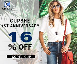 CUPSHE 1ST Anniversary!16% OFF Code:Cup! Free Shipping !
