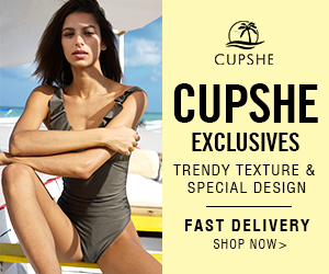 Cupshe Exclusives! Trendy Texture & Special Design! Fast Delivery! Shop Now!