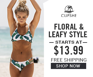 Floral & Leafy Style! Starts at $13.99! Free Shipping! Shop Now!