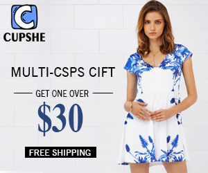 Multi-CSPs Gift !Get One over $30!Free Shipping !