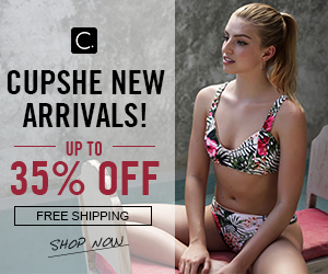 Cupshe New Arrivals! Up to 35% Off! Free Shipping! Shop Now!