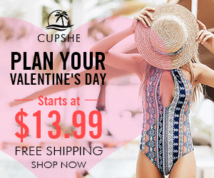 Plan Your Valentine's Day! Starts at $13.99! Free Shipping! Shop Now!