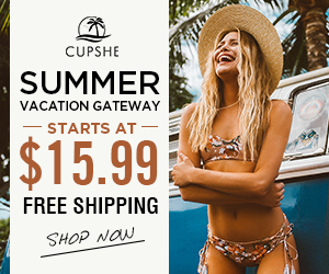 Summer Vacation Gateway! Starts At $15.99! Free Shipping! Shop Now!