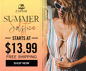 Summmer Solstice! Bikini Recommended Here! Starts At $13.99! Free Shipping! Shop Now!
