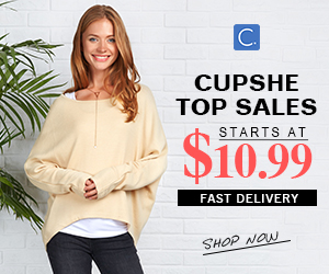 Cupshe Top Sales! Starts at $10.99! Fast Delivery! Shop Now!