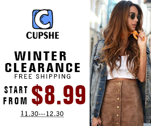 Winter Clearance!Start from $8.99! Free Shipping!