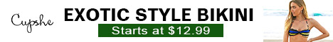 Exotic Style Bikini!Starts at $12.99!Fast Delivery!