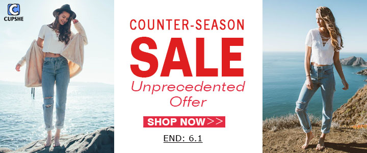 Counter-Season Sale!Unprecedented Offer!No Hesitation!Shop Now!Free Shipping Worldwide!
