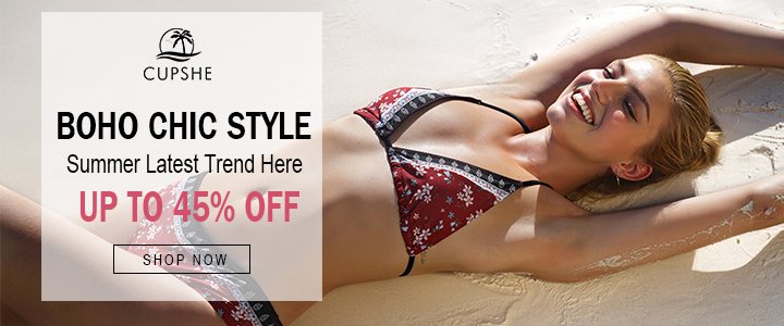 Boho Chic Style! Summer Latest Trend Here! Up to 45% Off! Shop Now!