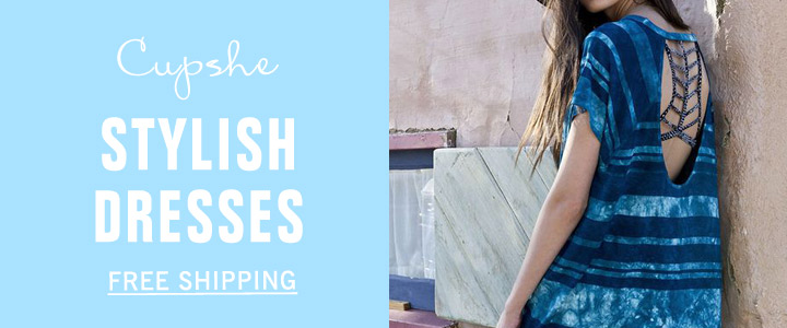 Cupshe Stylish Dresses!Free Shipping!Shop Now!