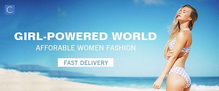 Girl-Powered World! Afforable Women Fashion!Fast Delivery!