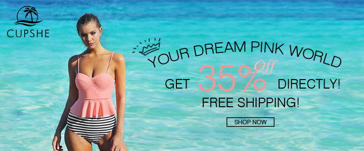 Your Dream Pink World! Get 35% Off Directly! Free Shipping! Shop Now!
