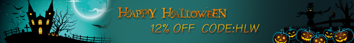 Happy Halloween Day Sale! 12% Off with Code:HLW!