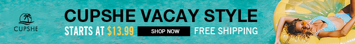 Cupshe Vacay Style ! Starts At $13.99! Free Shipping! Shop Now!