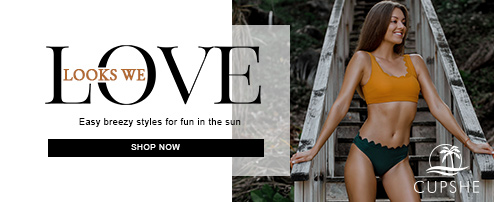 Looks We Love! Easy Breezy Styles For Fun In The Sun! Shop Now!