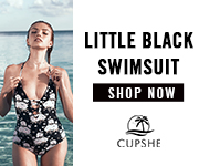 LITTLE BLACK SWIMSUIT! THE PERFECT BASIC JUST GOT UPGRADED! SHOP NOW!