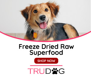 Freeze Dried Raw superfood Tru Dog banner