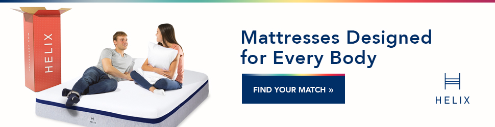 Find the best mattress for stomach sleeper with Helix Sleep Quiz