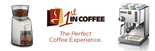 1st in coffee best price for coffee makers and coffee grinders