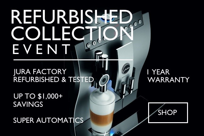 <center>Jura Coffee Machine Refurbished Event</center>