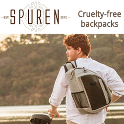 Cruelty-free backpacks