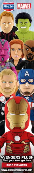 Bleacher Creatures Avengers Plush Dolls