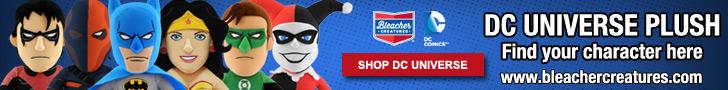 Bleacher Creatures DC Universe Plush Dolls