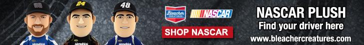 Bleacher Creatures NASCAR Plush Dolls