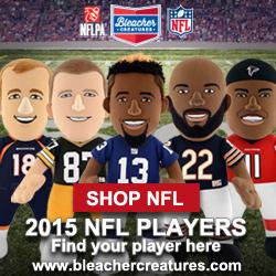 Bleacher Creatures NFL Plush Dolls