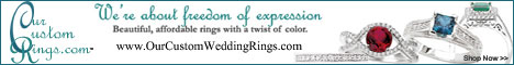 Our Custom Wedding Rings