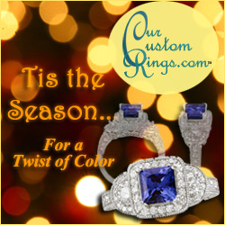 Our Custom Wedding Rings Holiday Gifts