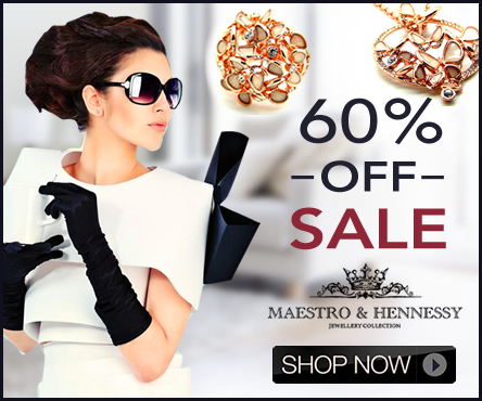Maestro & Hennessy 60% OFF Sale