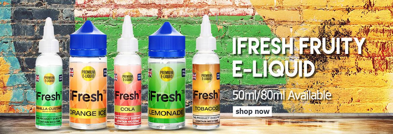 UK Wholesale iFresh Eliquid