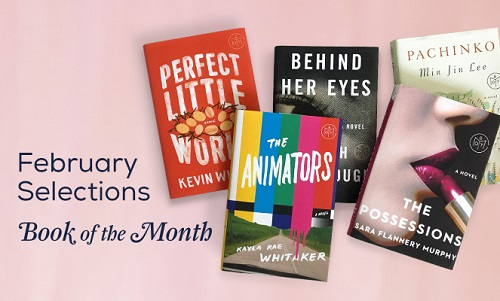 Book of the Month Club February 2017 selections