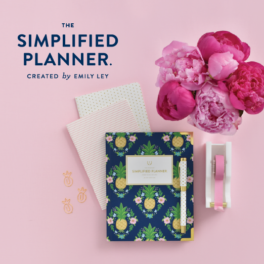 Simplified Planner, Emily Ley, Daily Planner, Mini Notebook