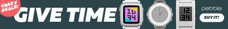 Crazy deals on Pebble Time Smartwatches