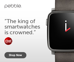 Pebble is the King of Smartwatches