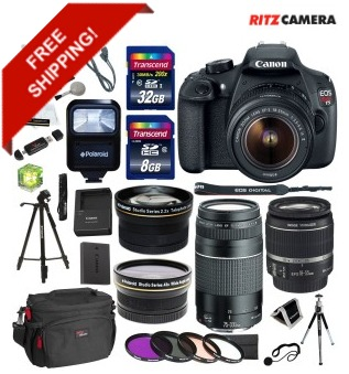 Canon EOS Rebel Bundle