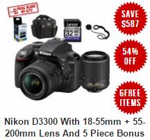 Nikon D3300 Deal