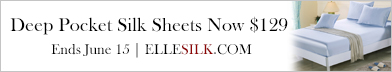 Select Seamless Silk Sheets $129