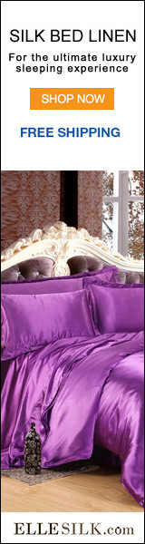 Silk Bed Linen from Ellesilk.com