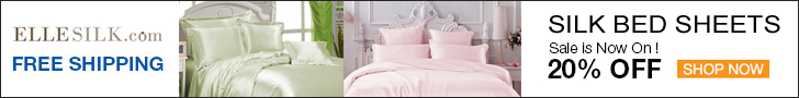 Silk Bed Sheets from Ellesilk.com